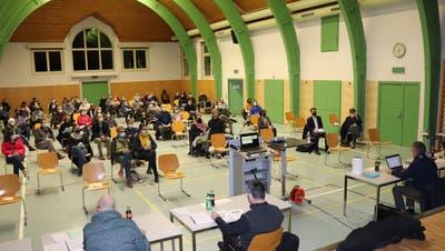 Gemeindeverssammlung Kölliken vom 27. November 2020. (Flurina Dünki)