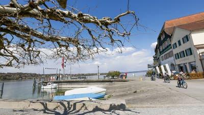 Schifflände des historischen Städtchens am Untersee. (Bild: Donato Caspari)