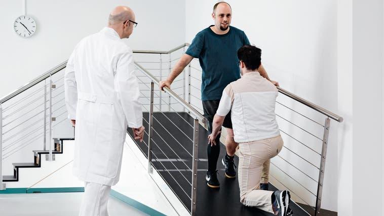 Die Rehaklinik steigerte den Umsatz 2020 um 1,7 Millionen Franken. (Phil Muller)