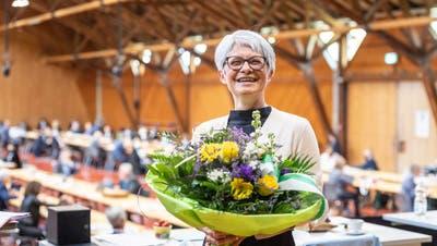 Eine Frau ist höchste Thurgauerin: Brigitte Kaufmann (FDP, Uttwil) wurde am 6. Mai zur Grossratspräsidentin gewählt. (Bild: Andrea Tina Stalder)