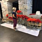 Gaby Gerbers Werk umfasst 1000 handgemachte Blüten. ((Bild: zvg))