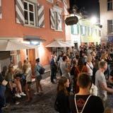 Partymeile Bermudadreieck: Rund um den Platz an der Engel- und Augustinergasse reihen sich mehrere Beizen und Bars aneinander. (Bild: Ralph Ribi (25.07.2020))