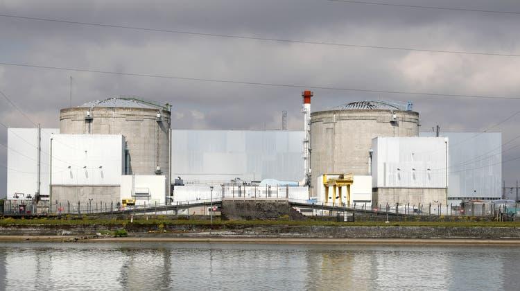 Das stillgelegte AKW Fessenheim. (Bild: Ronald Wittek / EPA)