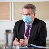 Robert Rhiner ist CEO des Kantonsspital Aarau. Aufgenommen am 11. März 2021. (Britta Gut)