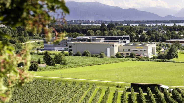Der Liebherr-Elektronik-Standort in Lindau am Bodensee. (PD)