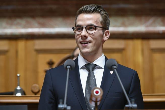Andri Silberschmidt, FDP.Nationalrat des Kantons Zürich.