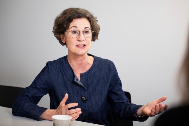 Sabina Freiermuth.