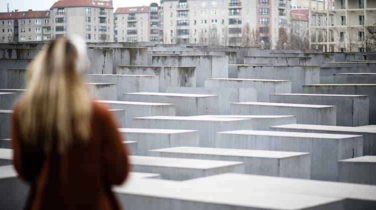 Einer der bekanntesten Gedenkorte ist wohl dasHolocaust-Mahnmal in Berlin. (Keystone)