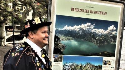 Die Gemeinde Isenthal präsentiert sich auf 32 Plakaten. (Bild: PD)