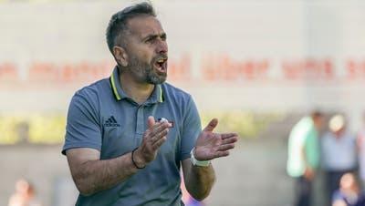 Trainer Ranko Jakovljevicwill mit dem FC Baden den Aufstieg irgendwie noch bewerkstelligen. (Claudio Thoma)