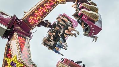 Impressionen vom Lunapark an der WEGA in Weinfelden. (Bild: Andrea Stalder)