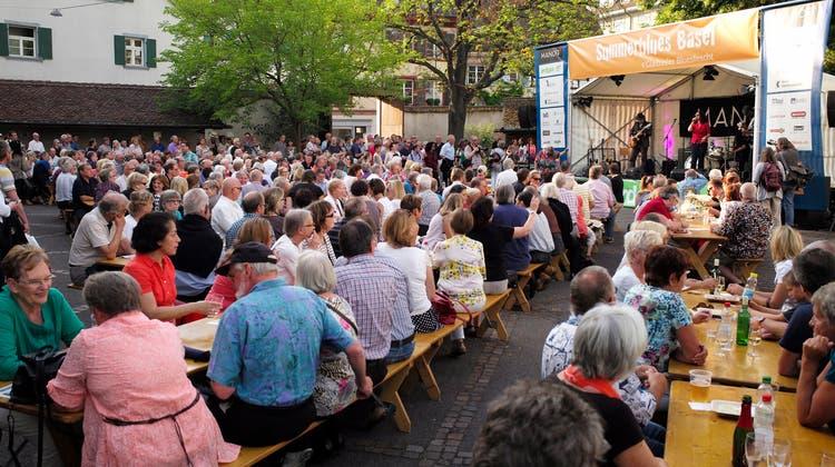 Volksfest-Stimmung wie in vergangenen Jahrenwird es bei der diesjährigen 12. Ausgabe von Summerblues Basel wohl nicht geben. (Kenneth Nars)