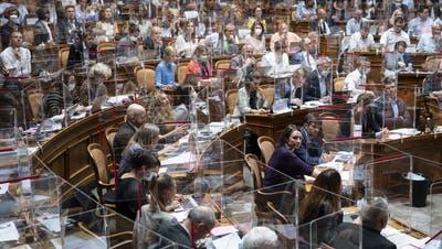Das Parlament streitet über den Rentenzuschuss für Frauen , die länger arbeiten müssen. (Bild: 9. Juni 2021) (dpa / Keystone)