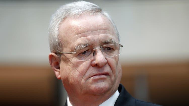 Martin Winterkorn, auf dem Bild im Untersuchungsausschuss des Bundestages: Hier soll er 2017 die Unwahrheit gesagt haben. (Felipe Trueba / EPA Januar 2017)
