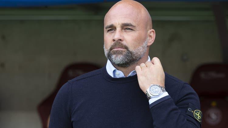 Giorgio Contini übernimmt beim Super-League-Austeiger. Für den 47-Jährigen ist es die vierte Station als Cheftrainer. (Keystone)