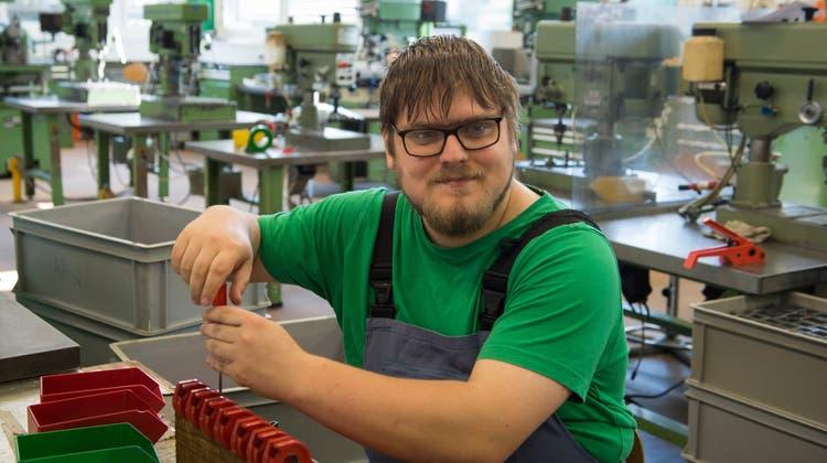 In der Werkstatt der Arwo-Stiftung befinden sich geschützte Arbeitsplätze. (Alex Spichale/Archiv)
