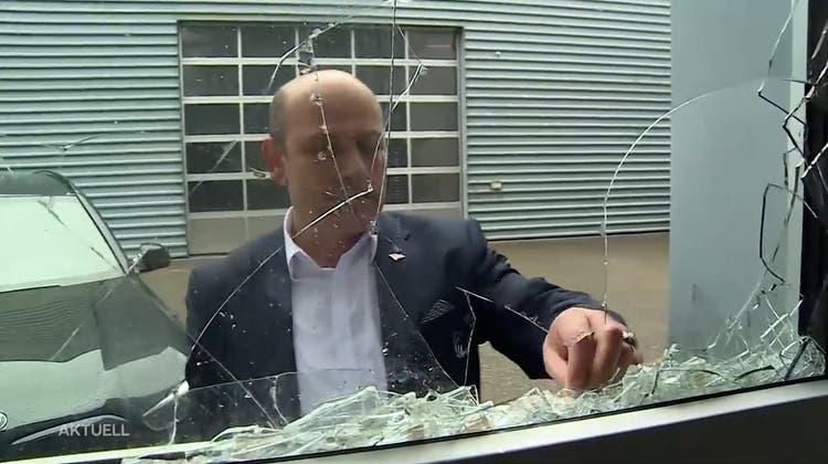 Nach Buttersäureanschlagin Dulliker Dönerfabrik: Pro-kurdische Aktivisten bezeichnen Eigentümer in einem Video als Faschisten