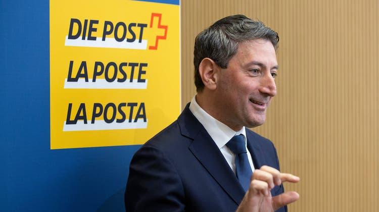 Es soll wieder ein bisschen mehr werden: Post-Chef Roberto Cirillo will die Post zurück auf den Wachstumspfad bringen. (Peter Klaunzer / Keystone)