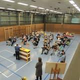 Trotz Gewitter und Fussballspiel nahmen 45 Personen amInformationsanlass teil. (zvg)