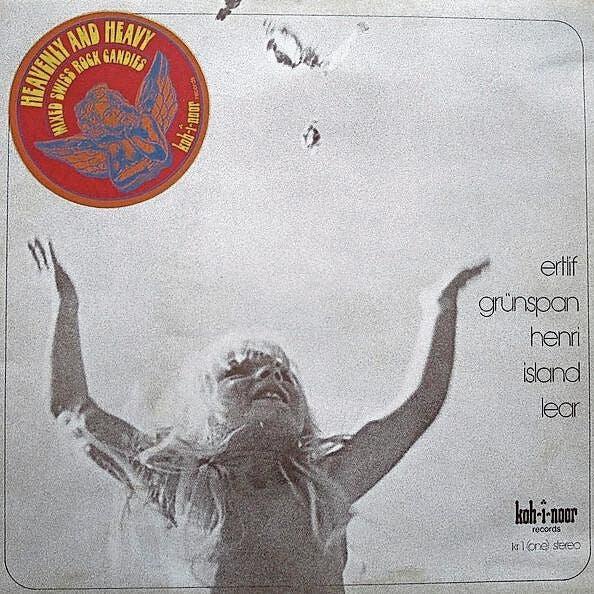 Heavenly And Heavy: Mixed Swiss Rock Candies (Bern, 1974) Toller Sampler mit Grünspan (später Span), Island, Ertlif u.a. Schmuckstück.