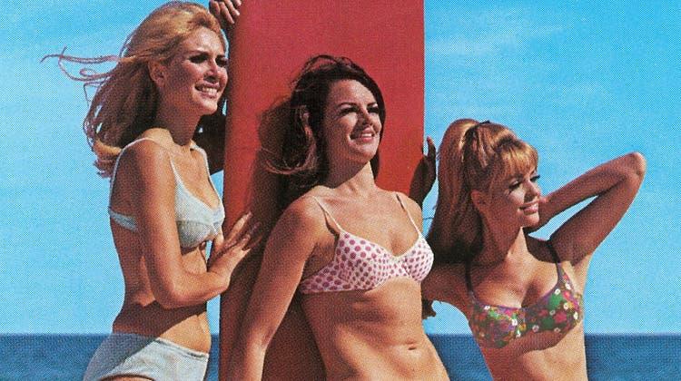 Früher durfte er nicht im Fernsehen gezeigt werden: Wie der Bikini zum beliebtesten Badeanzug wurde