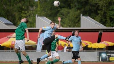 Jan Acklin (Mitte) und der FC Goldach-Rorschach sind in Heimspielen seit zwei Jahren unbesiegt. (Bild: Michel Canonica)