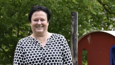 Die Walliserin Michèle Robadey arbeitet seit 45 Jahren als Wohngruppenleiterin in der Stiftung St.Josef in Bremgarten. (Bild: Melanie Burgener)