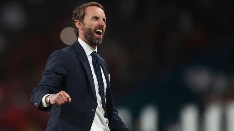 Der englische Nati-Coach Gareth Southgate möchte nach dem EM-Final wieder jubeln. (Keystone)
