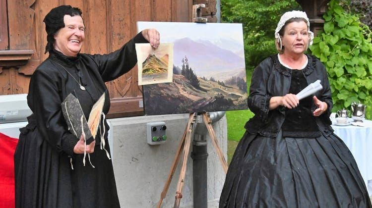Theater auf dem Ballenberg: Königin Victoria und die «Trucklifrauen»