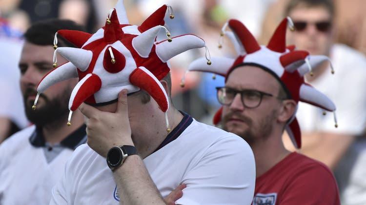 England muss sich fragen, was da schief läuft. (Rui Vieira / AP)