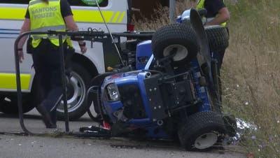 Tödlicher Unfall mit Rasenmäher in Oberwil-Lieli