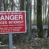 2006 war der Zugang zur damals noch nicht sanierten Deponie Roemislochverboten. (BLZ)