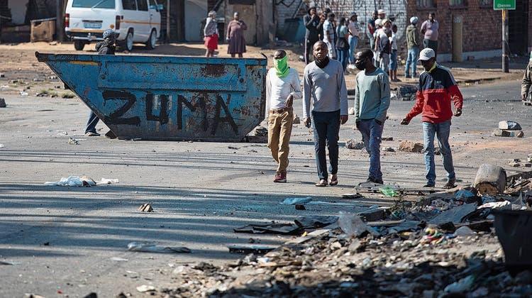 Ex-Präsident im Knast, Land im Chaos: Südafrika wird von Protestwelle erschüttert
