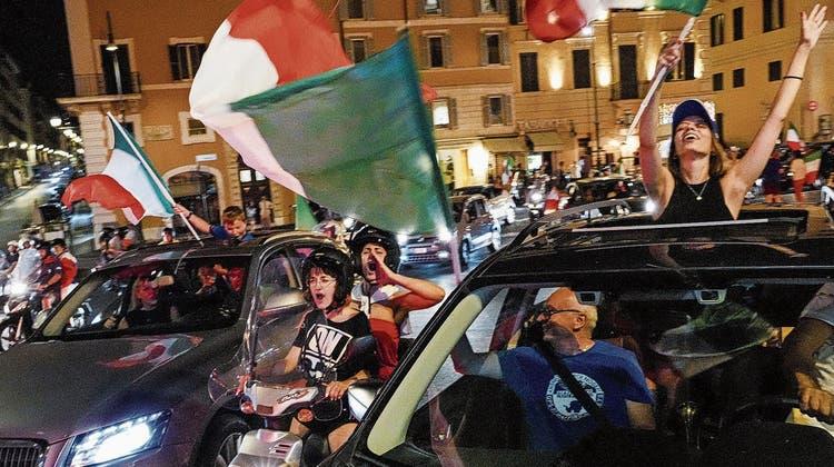 Italien im Siegestaumel: «Süsse Gewissheit, einig und stark zu sein» – alle anderen Sorgen bleiben