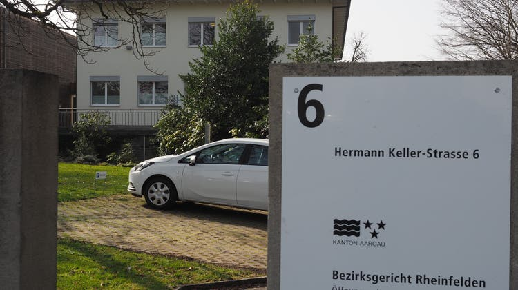 Bezirksgericht Rheinfelden. (Hans Christof Wagner/ Aargauer Zeitung)