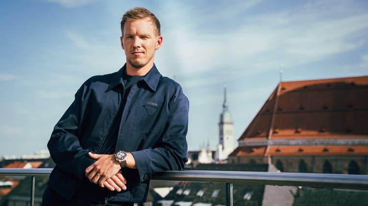 Neuer Breitling-Markenbotschafter: Bayern München Trainer Julian Nagelsmann. (Breitling)