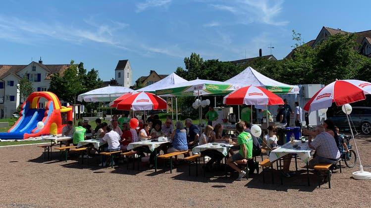 Der Anlass fand im neu gestalteten Radolfzeller Park statt. (Bild: PD)