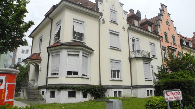 Die Musikschule Solothurn ist im schlechten Zustand. (Judith Frei)