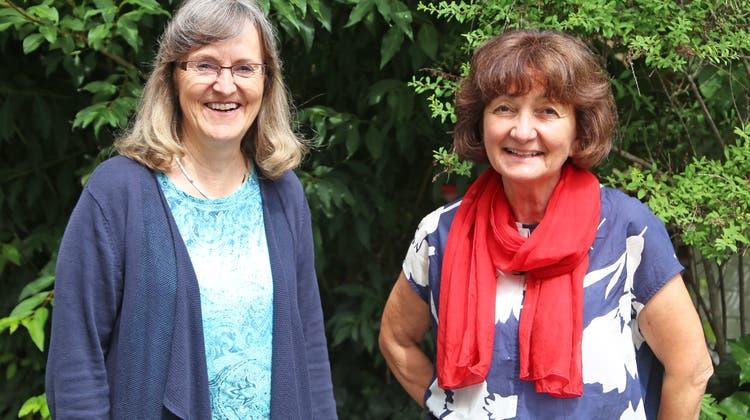 Marianne Villiger (links) und Carla Lotti treten nach mehr als 40 Dienstjahren in den Ruhestand. (Jürg Salvisberg)