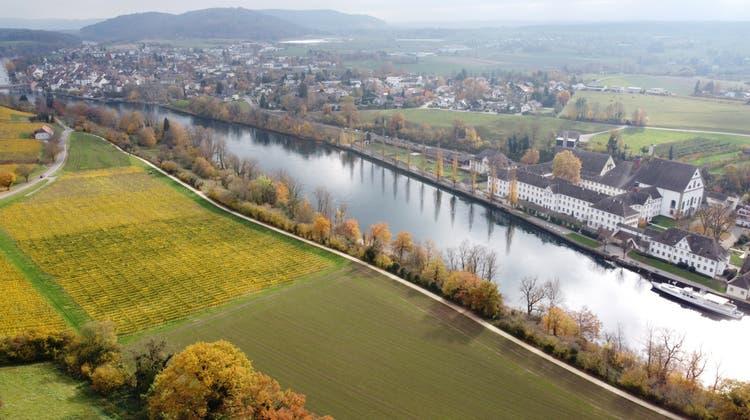Die Bewohner des Rheinstädchens können Wünsche und Ideen zur Gesamtrevision der Ortsplanung anbringen. (Bild: Reto Martin (5. November 2020))