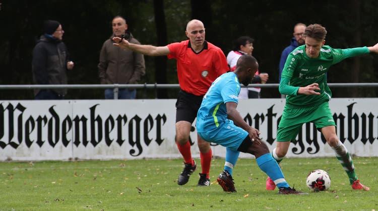 Die Spieler des FC Buchs sehen diese Saison wieder mal andere Fussballplätze und reisen zu den Auswärtsspielen meistens nordwärts. (Bild: Robert Kucera)