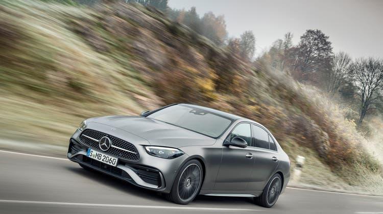 Mercedes C220d. (Bild: zVg)