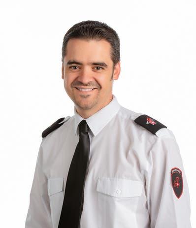 Urs Bächtold, Direktor Schweizerischer Feuerwehrverband.