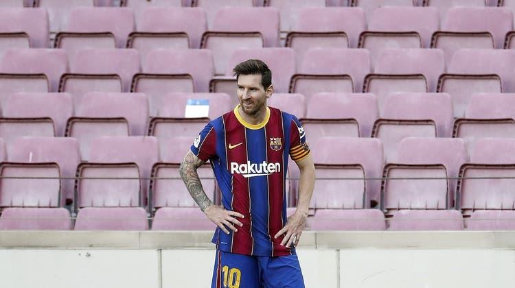 Lionel Messi bleibt seinem FC Barcelona offenbar erhalten. (Keystone)