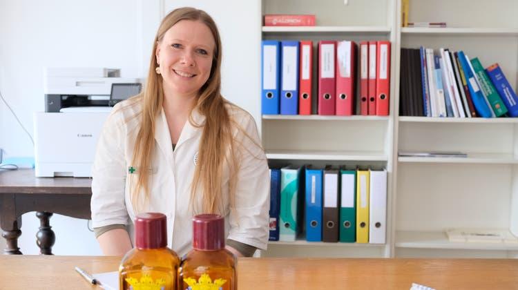 Rhea Goldmann, neue Geschäftsführerin der Stadtapotheke Diessenhofen. (Bild: Thomas Brack)