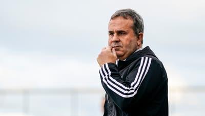 Thomas Jent ist nicht mehr Trainer beim FC Wohlen. (Claudio Thoma)