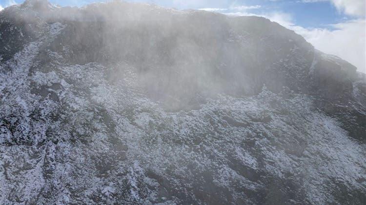Die Spezialisten fanden den toten Berggänger auf einer Höhe von gut 2700 Metern über Meer. (SAC)