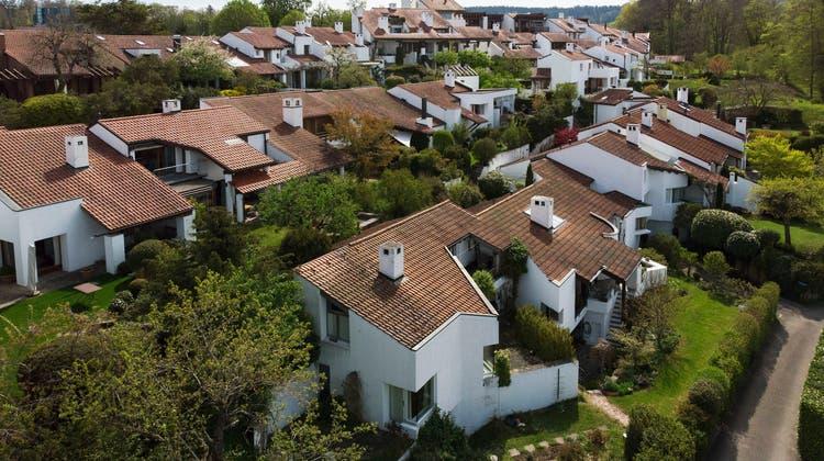 Die Hypotheken werden aktuell wieder billiger. (Symbolbild) (Keystone)