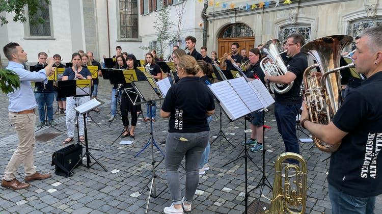 Halbjahresabschluss der Stadtmusik Altstätten
