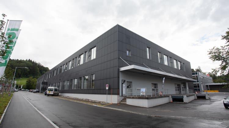 Das neue Brocki ist an der Sihlbruggstrasse 3a, direkt neben dem Landi-Areal, geplant. (Bild: Matthias Jurt (Baar, 14. Juli 2021))